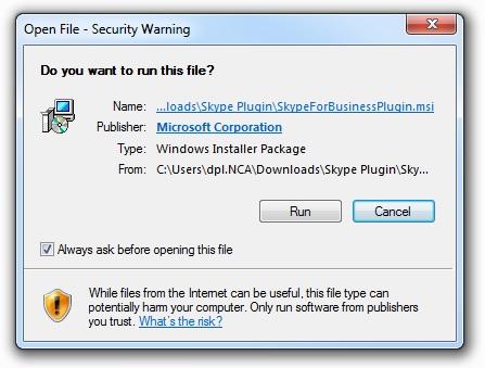 skype for business web app installation failed